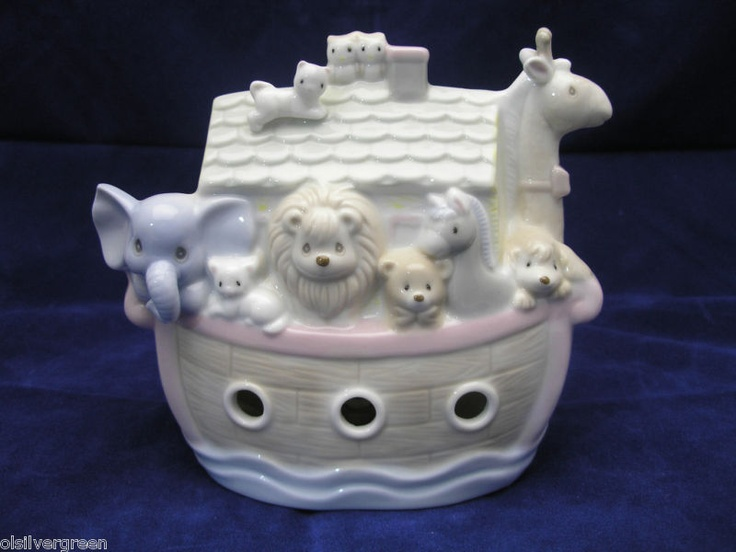 Precious Moments Noah's Ark Night Light | Kids | Pinterest ...