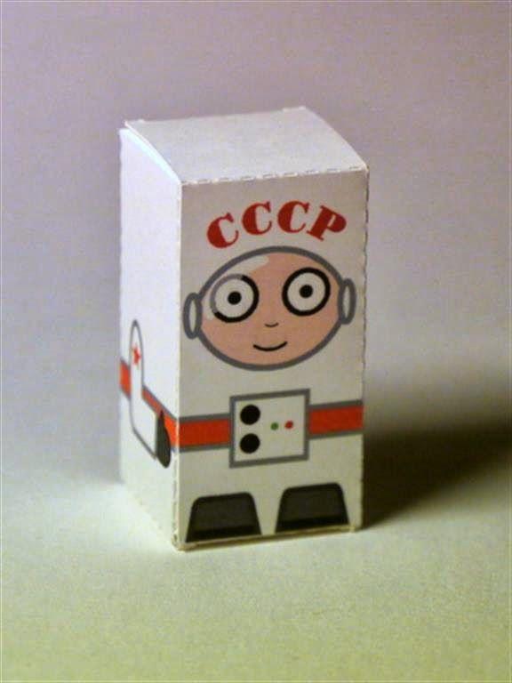 kerajinan gunting/tempel anak TK/SD, membuat sendiri kotak souvenir permen, astronot