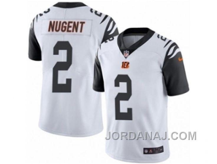 http://www.jordanaj.com/mens-nike-cincinnati-bengals-2-mike-nugent-limited-white-rush-nfl-jersey.html MEN'S NIKE CINCINNATI BENGALS #2 MIKE NUGENT LIMITED WHITE RUSH NFL JERSEY Only $23.00 , Free Shipping!