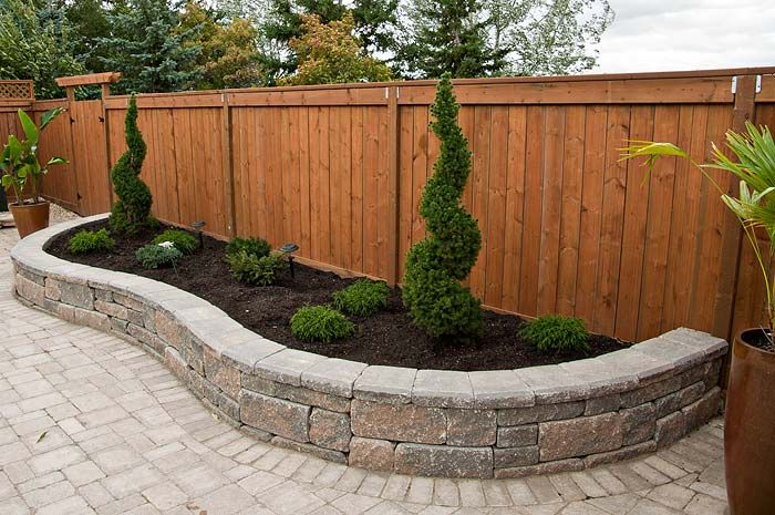 Backyard paving stone
