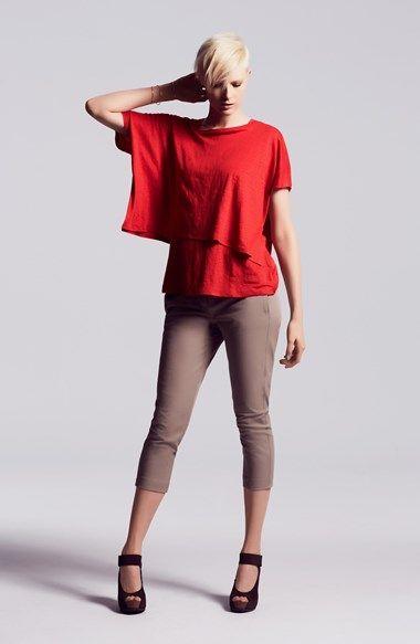 Eileen Fisher Poncho Top, Tank & Capri Pants