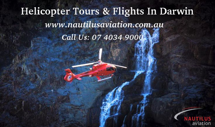 Helicopter flights in Darwin gives you a true layout of the city, its history and landmarks pre and post-World War II and Cyclone Tracy. Enjoy Darwin City's vast and contrasting views with Nautilus Aviation. Visit us to know more at http://www.nautilusaviation.com.au/home/experiences/darwin/