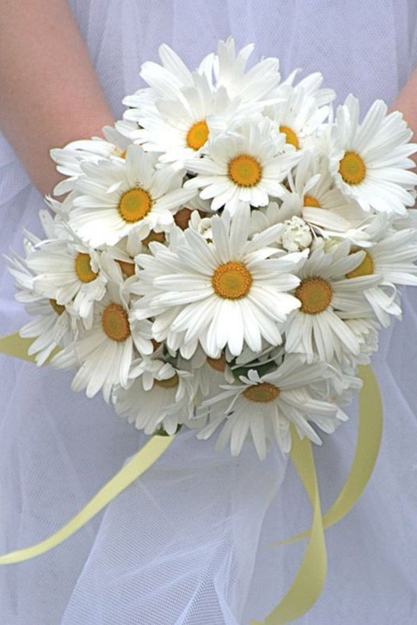 daisy bridal bouquet - 14 Beautiful Bridal Bouquets