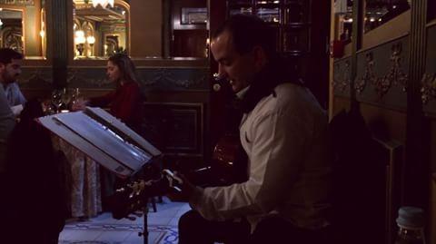 Paulo Ribeiro 🎼  @chaminerussa #livemusic #finedining #musicaaovivo #jantarespecial #guitarraportuguesa #stroganovhotel #oliveiradohospital #visitportugal #portugalalive (at Stroganov Hotel)