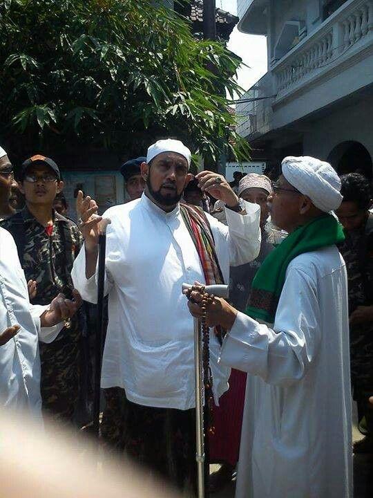 Habib syaikh bin abdul qodir &  as syaikh rozaq bin imam kholil Sarang Rembang Indonesia