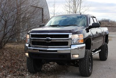 lifted jacked Chevy