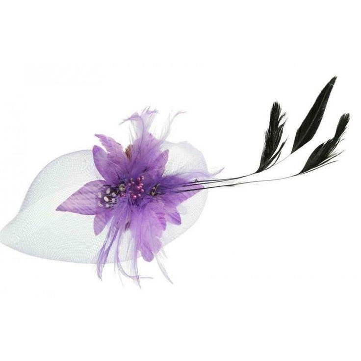 Ivys Lilac Fascinator