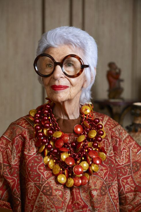 """Before multiculturalism was a word, Iris Apfel was wearing it."" Art Critic, Roberta Smith"