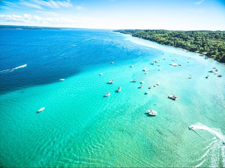 Michigan S Torch Lake Looks Like Caribbean Sea In 2020 Michigan Road Trip Lake Michigan Beaches Michigan Travel