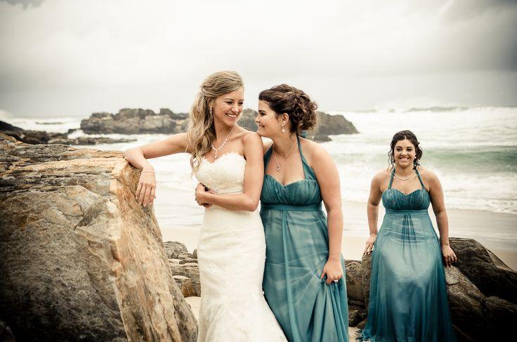 Bruid en 2 Bruidsmeisies se hare