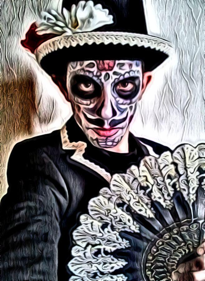 dia de los #muertos #carnival 2018 #costumedesign & #makeup by #leotheo