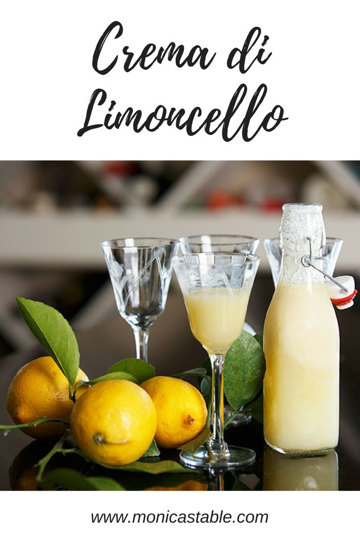 A digestif of Limoncello evokes warm memories of my Italian friends gathered around the table. It's the perfect gift to spread Christmas Cheer! #sundaysupper https://www.monicastable.com/creamy-limoncello/
