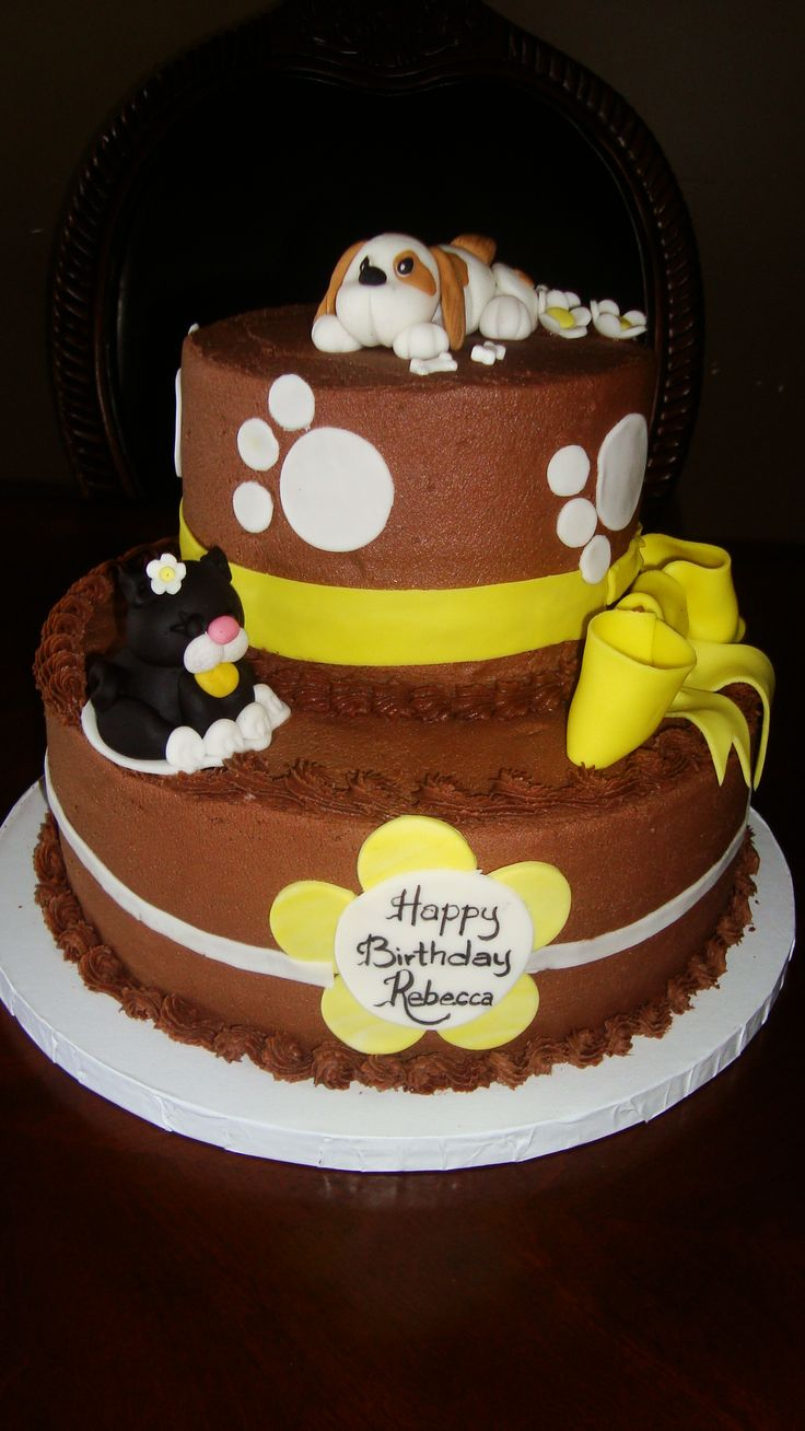 Dog Birthday Cake St Louis