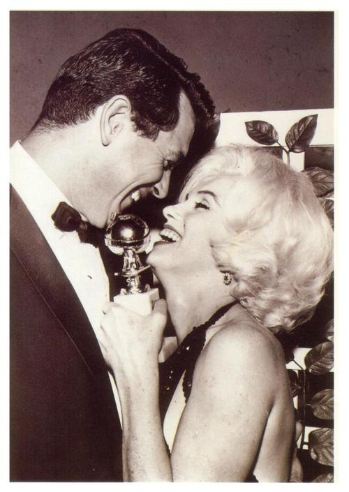 Marilyn & Rock Hudson