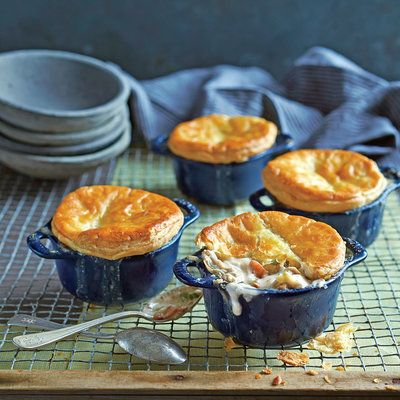 Oyster Bacon Pot Pie - South's Best Oyster Recipes - Southern Living
