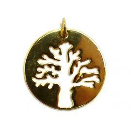 tree of life hanger bedel verguld goud