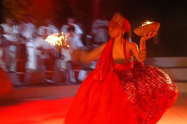 #Iansã, dancing. #candomble #spirit_possession