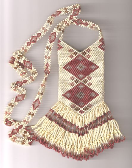 peyote amulet bags | ... out the Barrette and Earrings on page 3 that are amatch to this bag