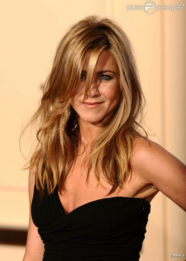 Jennifer Aniston Blond Dor 233 Clair Jennifer Aniston In