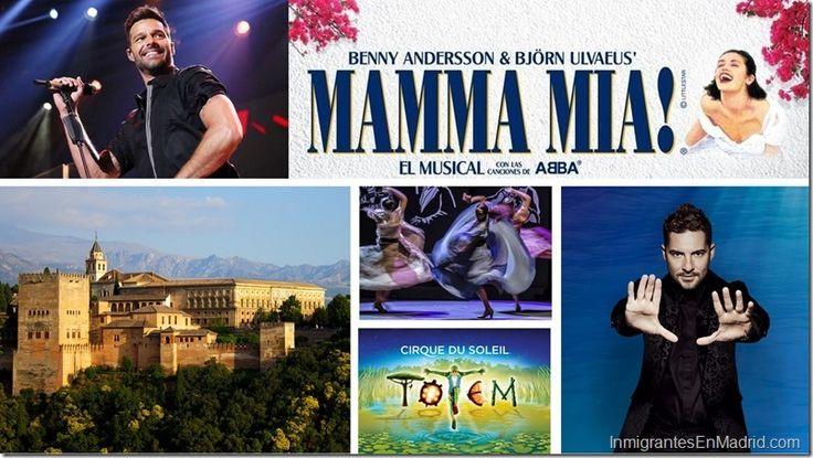Regalos ideales para las madres en su día: Teatro, conciertos y más en Madrid y toda España http://www.inmigrantesenmadrid.com/eventos-madrid-entradas-dia-de-las-madres/