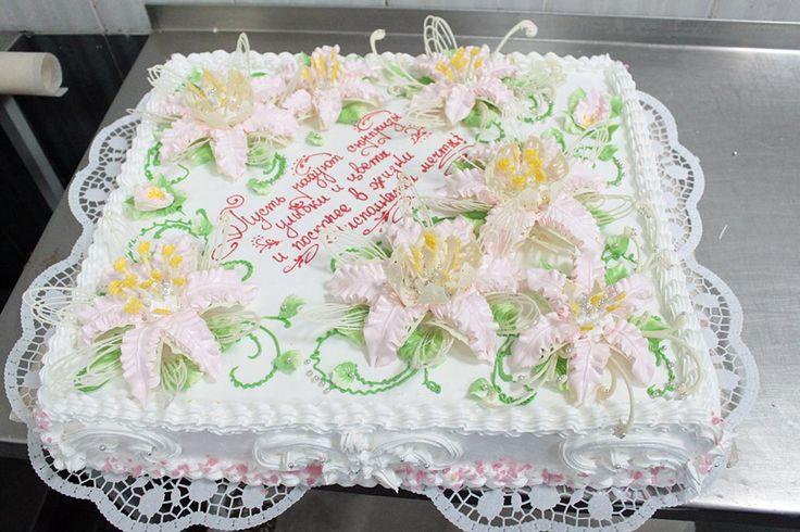 Юбилейные торты недорого