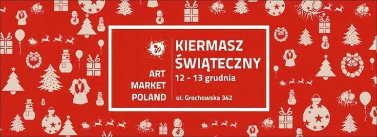 Serdecznie zapraszamy w weekend 12-13 grudnia na KIERMASZ ŚWIĄTECZNY - ART MARKET POLAND Kiermasz będzie odbywał się na 2 piętrach – w galerii AUTOGRAF oraz w ART MARKET POLAND Concept Store przy ulicy Grochowskiej 342 w Warszawie  Godziny otwarcia:  Sobota: 12:00 – 19:00  Niedziela : 10:00-18:00