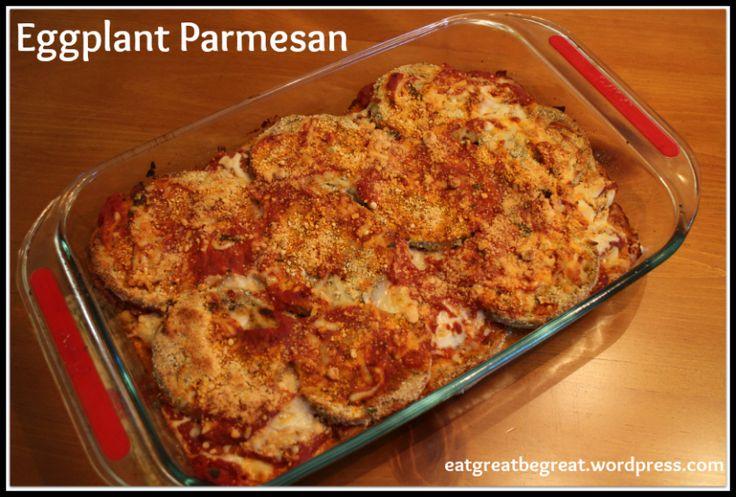 Eggplant Parmesan | recipe | Pinterest