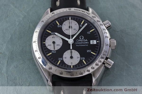 omega speedmaster chronograph stahl automatik kal 1155. Black Bedroom Furniture Sets. Home Design Ideas