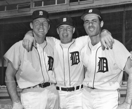 Al Kaline, Norm Cash, & Rocky Colavito