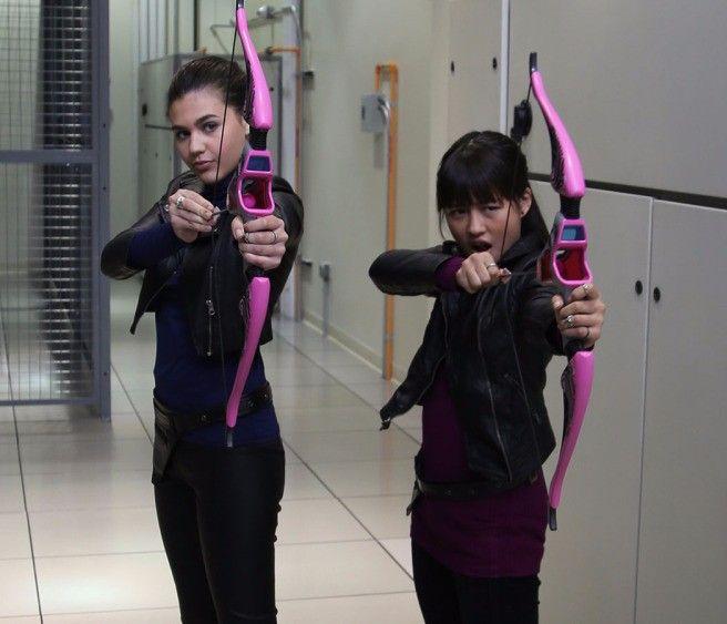 Amber Montana and Haley Tju