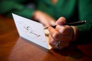 Manners Matter: A note on handwritten thank you notes