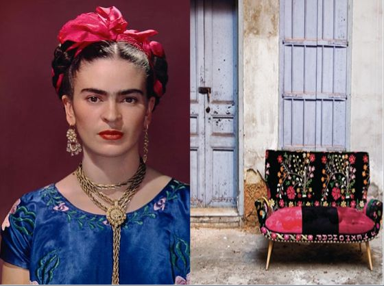 Ofcourse Frida Kahlo Is A Great Inspiration As Style Icon Well Both For Her Personal Appearance Interior Design
