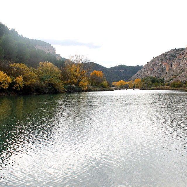 Río Júcar a su paso por Tolosa
