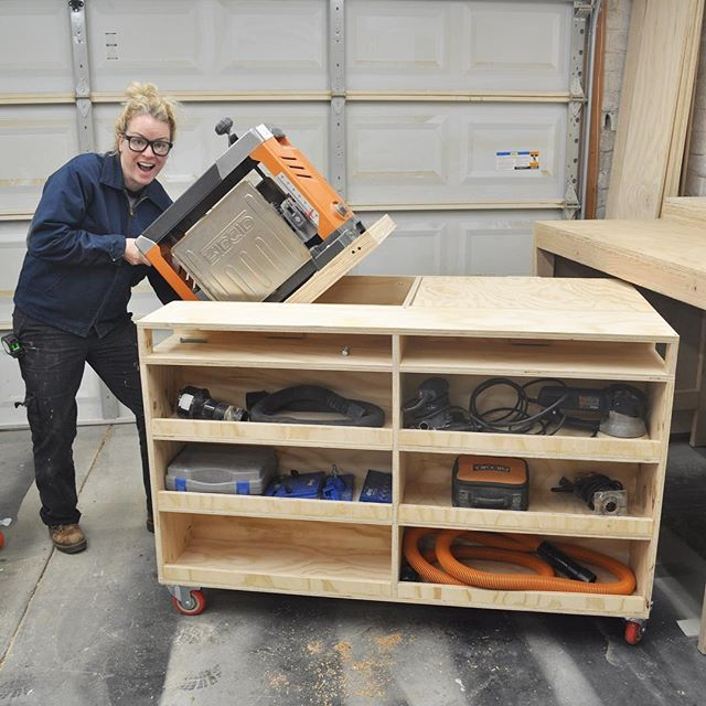 I M Flipping Excited Plans For My New Diy Flip Top Workbench Are Available For Download On My Website This Workbench Designs Diy Furniture Plans Workbench