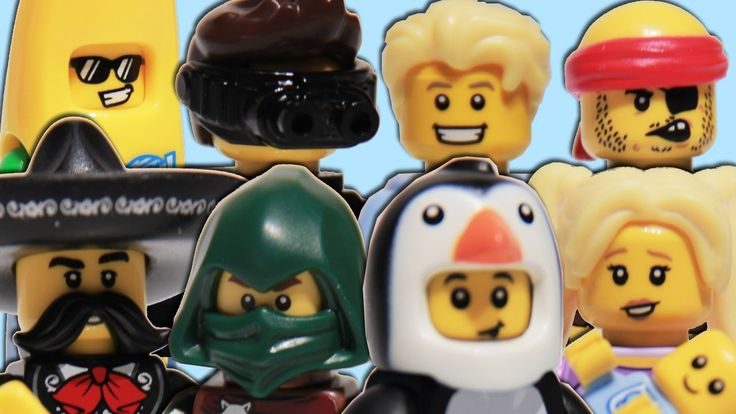 LEGO Series 16 Minifigures Part 2 - Penguin Boy, Banana Guy, Mariachi, Spy, Pirate, Babysitter video: https://youtu.be/afuXGur0FA4