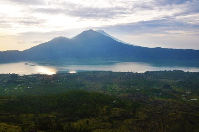 View from Mount Batur, Bali
