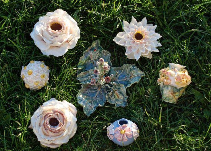 Вазочки-цветы и цветочные вазы. - Ярмарка Мастеров - ручная работа, handmade