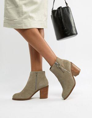 3792e0fabcc ASOS DESIGN Explorer suede ankle boots