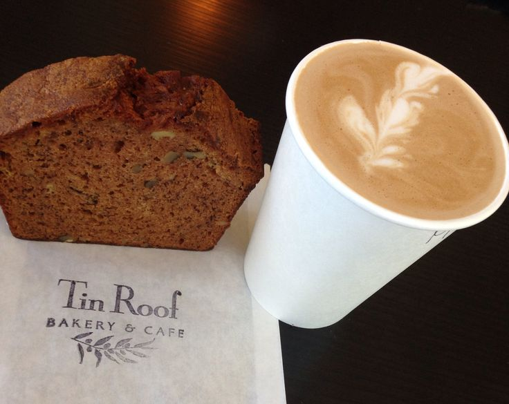 For those staying downtown, let yourself sleep in. Then, start your morning with a coffee and delicious pastry at Tin Roof Bakery