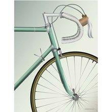 Vissevasse plakat Racing Bicycle