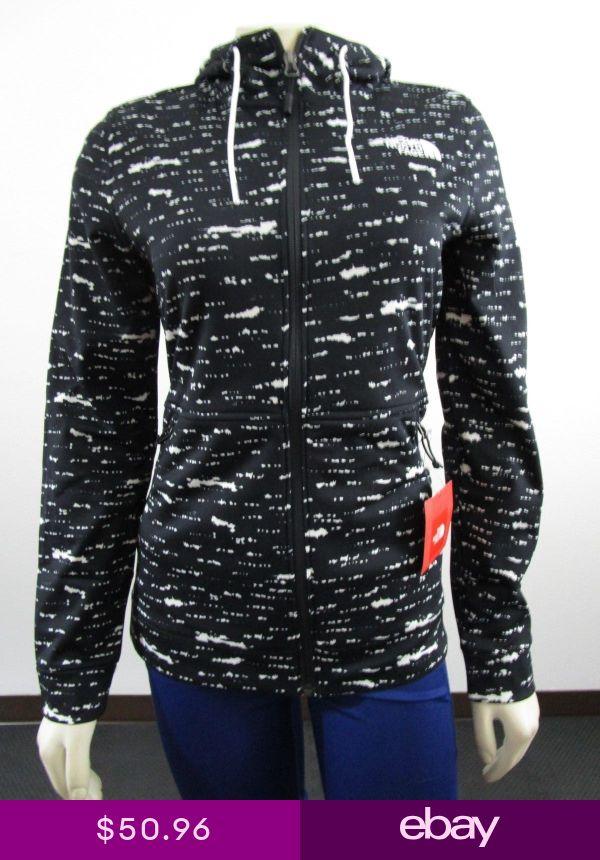 NWT Womens The North Face TNF 100 Cinder Tenacious Hoodie Fleece Jacket Black Dt