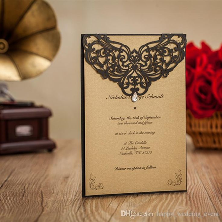 16 best Luxury wedding invitations images on Pinterest Wedding
