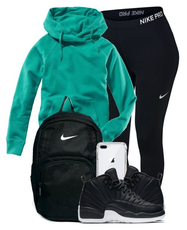 """Untitled #227"" by xmonishax ❤ liked on Polyvore featuring NIKE and H&M"