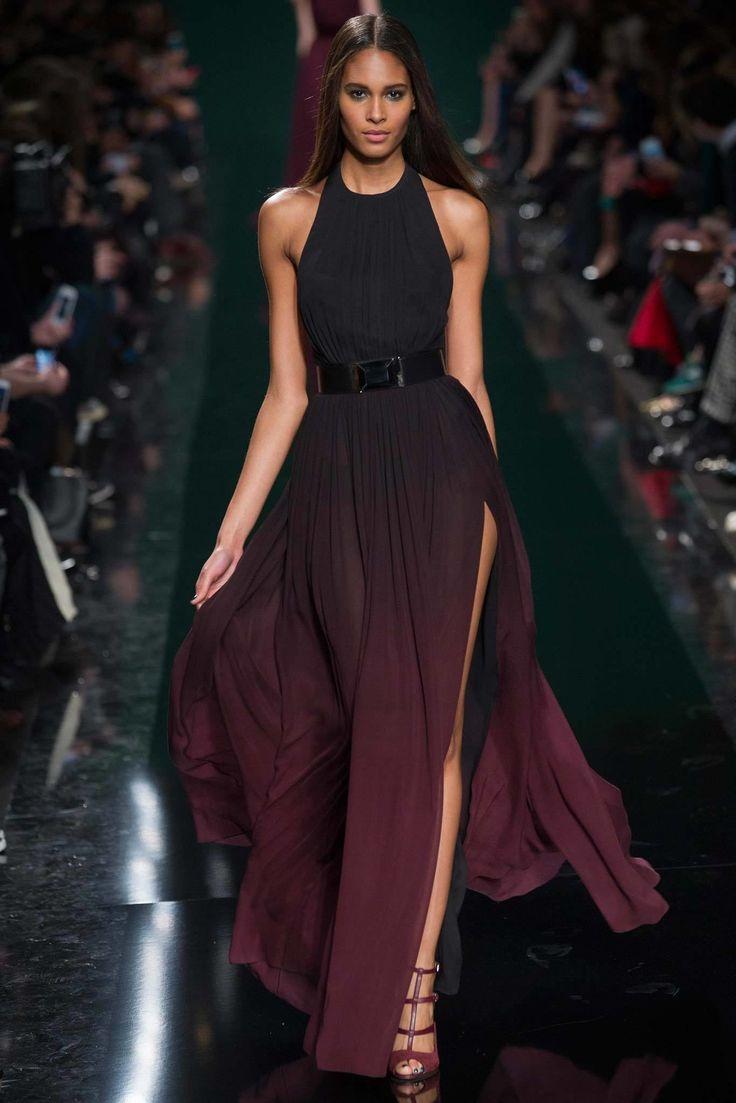 Elie saab 2014 F/W - 1930's Evening halter neck dress