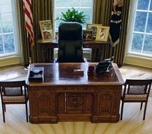 Inside Obama's Oval Office