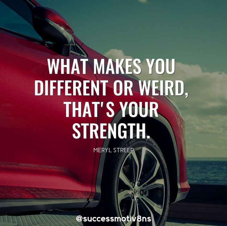 What makes you different or weird--that's your strength. Share it with your friends and family if you agree!  Follow us for more! ❤ #success #successquotes #successful #motivation #motivationalquotes #motivational #motivationmonday #attraction #inspiration #inspirationalquote