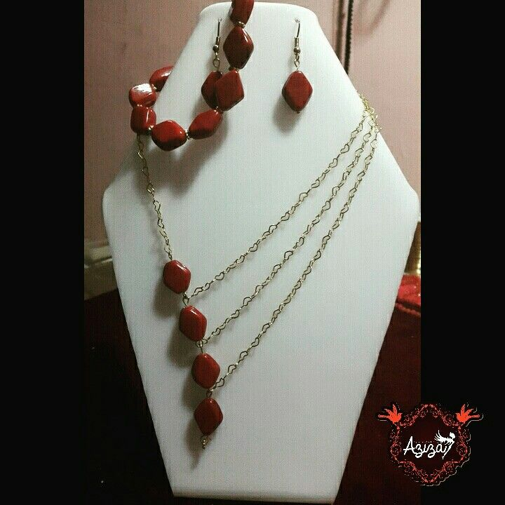 Trio golfied coral