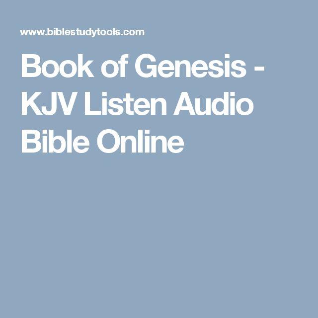 Book of Genesis - KJV Listen Audio Bible Online