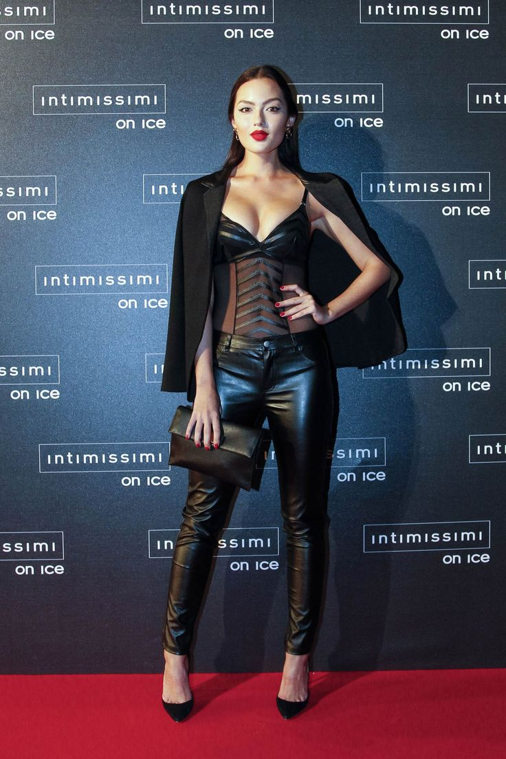 Mia Kang attends Intimissimi On Ice 2015 | Trends ...