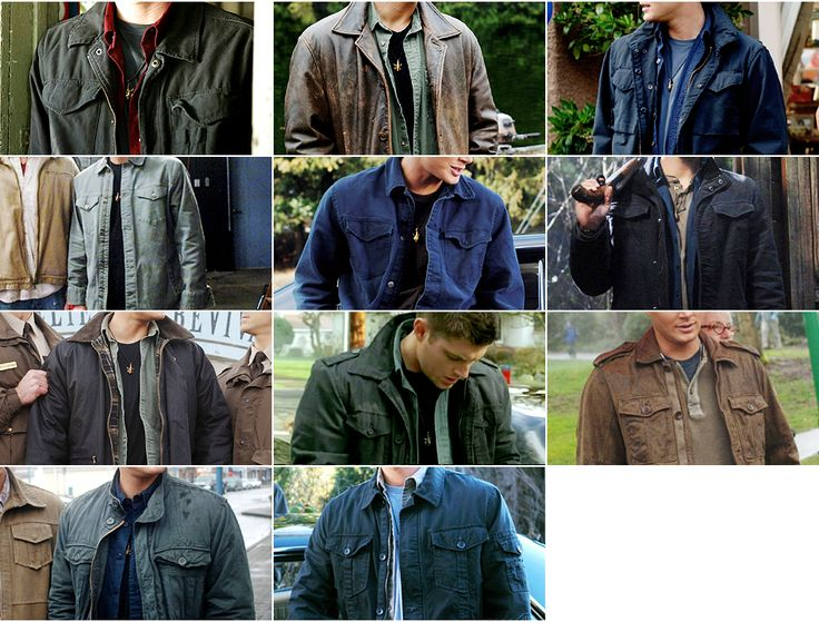 Dean Winchester, man of many slightly varied looks.                                                                                                                                                                                 More